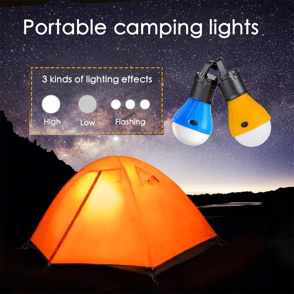 L/ámpara LED Vdealen para tienda de campa/ña recargable reparaci/ón de coches. para senderismo port/átil acampada impermeable hogar pesca