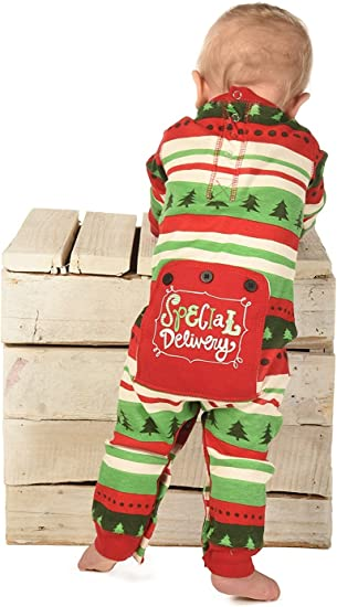 Childrens Christmas PJs 18-24 Months Brand New Red