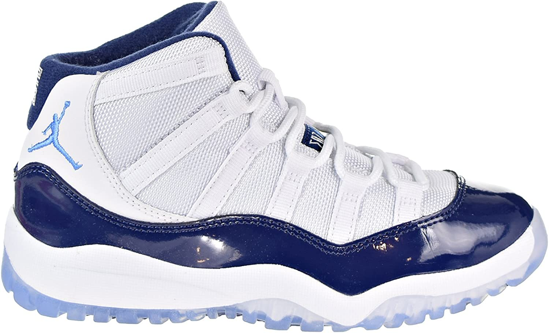Amazon Com Jordan 11 Retro Bp Little Kid S Shoes White
