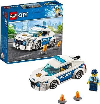LEGO 60239 City La Voiture de Patrouille de la Police avec F