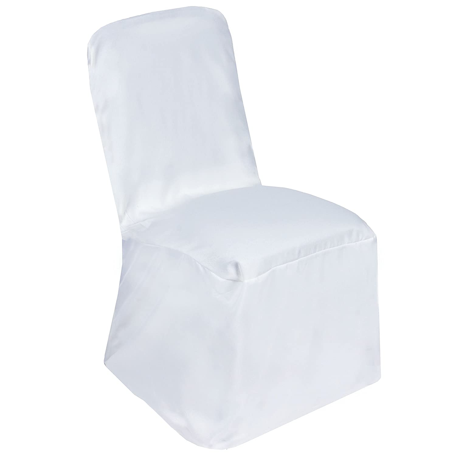 Amazon.com: balsacircle 10 pcs poliéster Banquet Chair ...