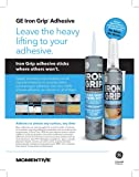 GE M90077 Point & Seal Iron Grip Adhesive 7.4 oz