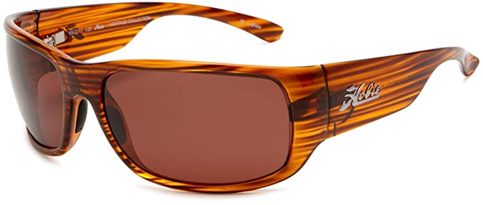 hobie sunglasses  Amazon.com: Hobie Bayside Polarized Sunglasses,Brown Wood Grain ...