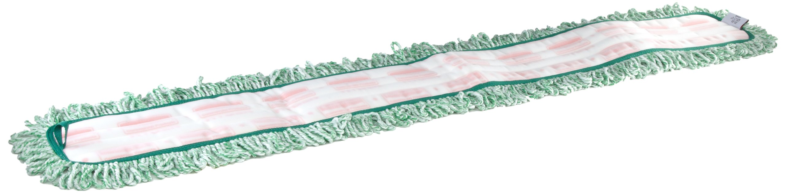 Rubbermaid Commercial FGQ44900GR00 HYGEN Microfiber Dust Mop Pad with Fringe, Single-Sided, 48-inch by Rubbermaid Commercial Products