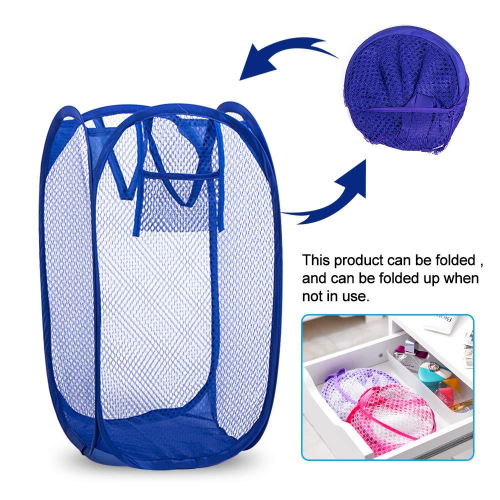 Amazon.com: SAYGOGO - Cesta para ropa sucia, cesta plegable ...