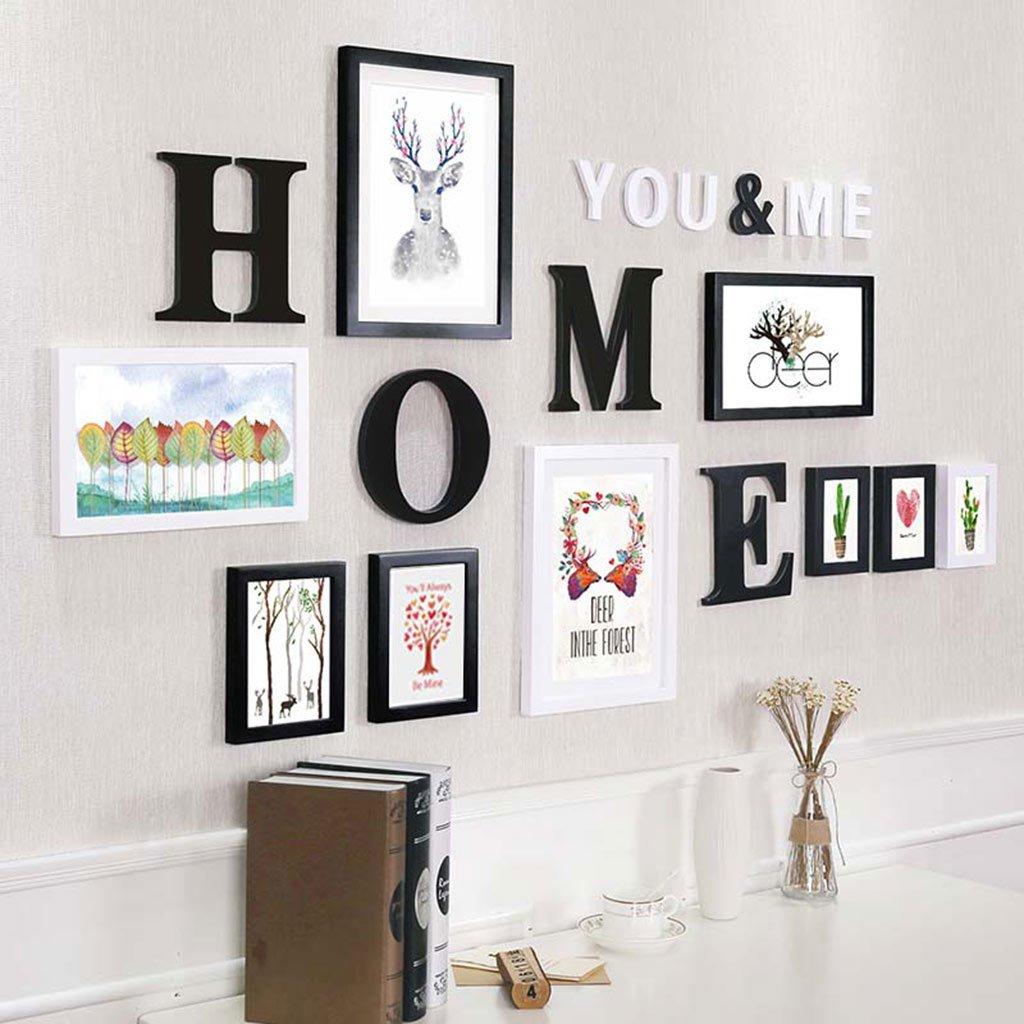 HDOH Bilderrahmen-Wand-Galerie-Kit enthält: Perfekter Rahmen, Rahmen ...