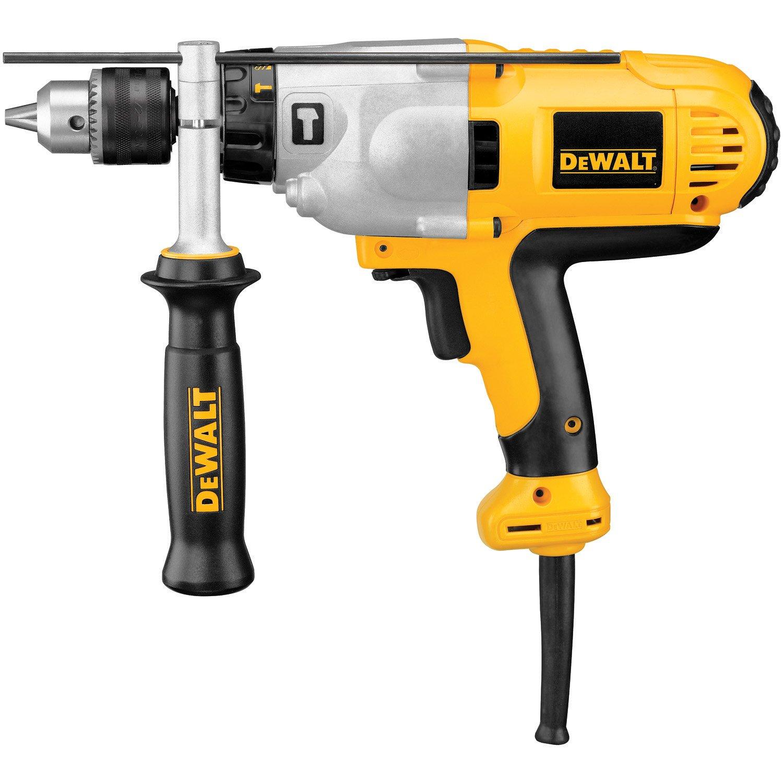 DEWALT Hammer Drill Kit, 1/2-Inch, 10-Amp, Mid-Handle Grip (DWD525K) by DEWALT
