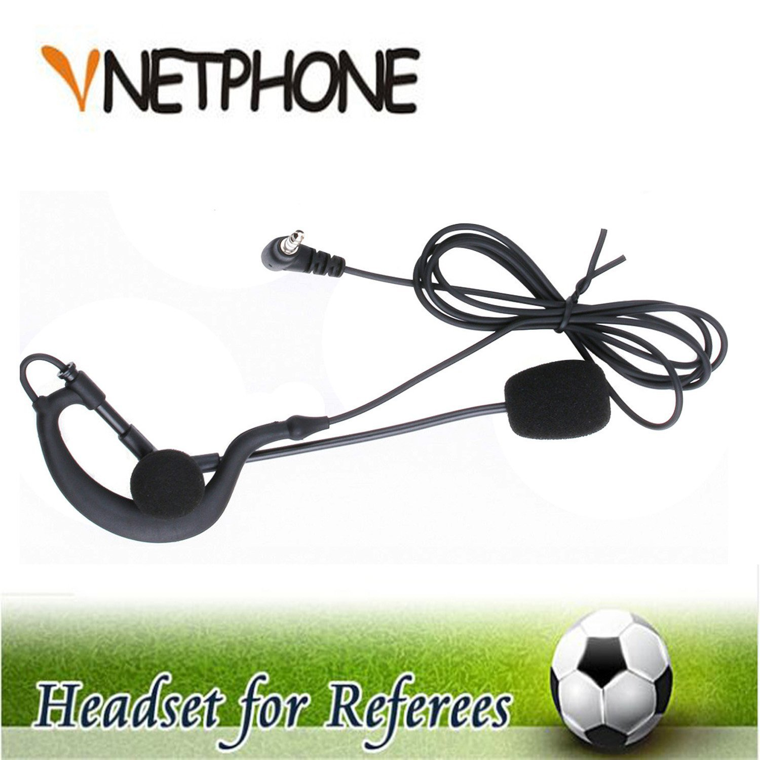 Vnetphone Soccer Football Referee Intercom Microphone Headset High Quality Earphone And Coach Headphones For V6 V4