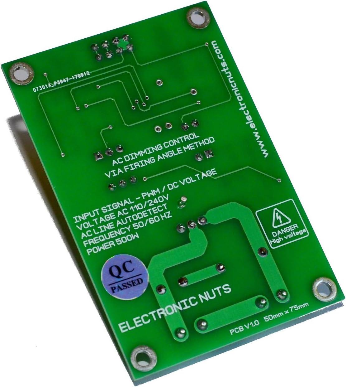 2pcs PWM AC Light Dimmer Module 50 Hz 60 Hz Arduino Raspberry DEL Smart Home