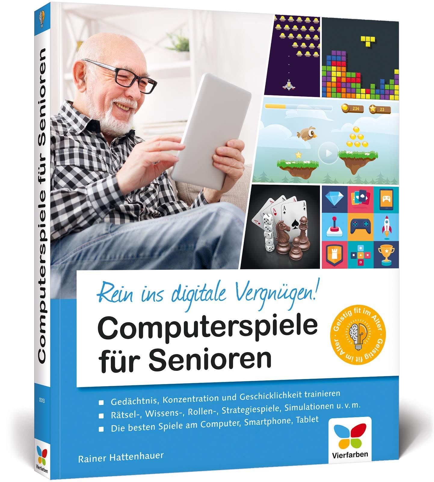 Computerspiele Für Senioren  Gedächtnis Training Und Gehirnjogging Mit Computerspielen  Entdecken Sie Die Besten Games Für Senioren