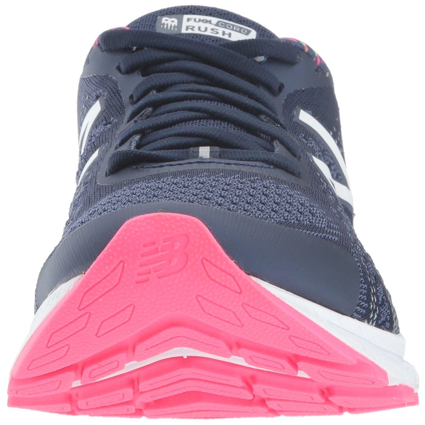 New Balance Women's Rushv3 Running-Shoes B01N43M9A0 6.5 B(M) US|Pigment/Alpha Pink
