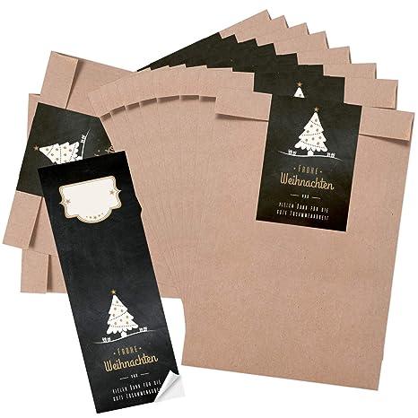 Logbuch-Verlag - Set de Bolsas de Papel para Regalo (16 x 23 ...