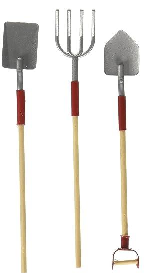 Darice 3 Piece Miniature Garden Tools  3 5 Inch. Amazon com  Darice 3 Piece Miniature Garden Tools  3 5 Inch  Arts