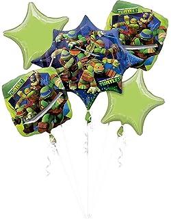 Amazon.com: Teenage Mutant Ninja Turtles Ramo de globos ...