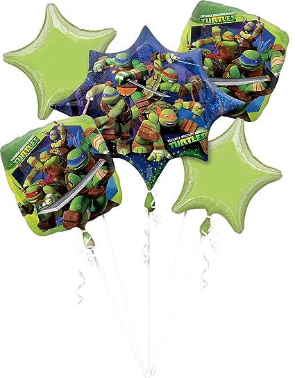 Teenage Mutant Ninja Turtles Foil Bouquet Balloons