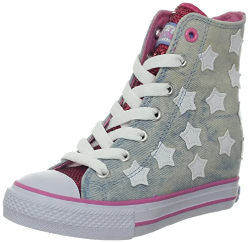 Skechers Gimme Starry Skies - Zapatillas de Lona niña: Amazon.es: Zapatos y complementos