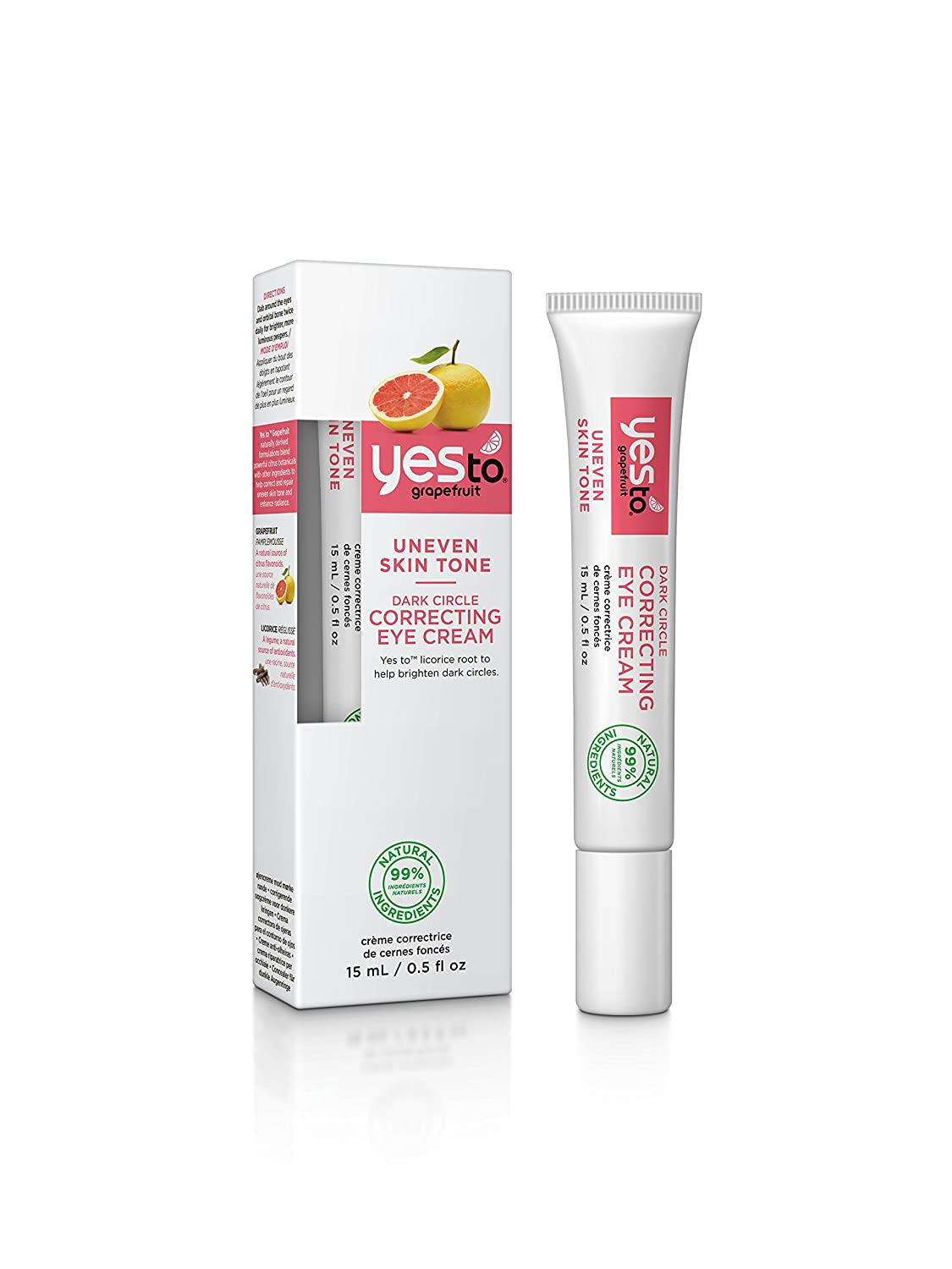 Yes to Grapefruit Dark Circle Correcting Eye Cream 6315106