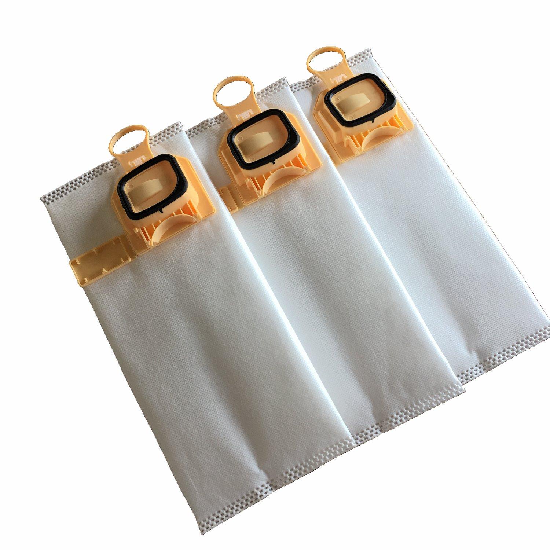 Clean Fairy bolsas de aspiradora Juego de 6 bolsas para aspiradoras Vorwerk VK140 y VK150 Plus 1 filtro de motor y 1 ambientadores Stick
