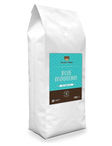 Brown Bear Blue Mountain Café En Grano Tostado Medio 1 kg