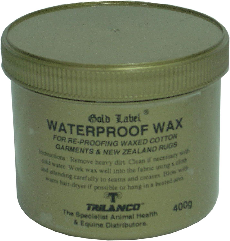 Re-Proofing pour tous WAXED COTON Vêtements 200 g Gold Label imperméable Cire