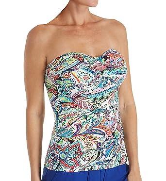 4f18bb50d91 Lauren Ralph Lauren Women s Cabana Paisley Twist Tubini Top Multicolored 8