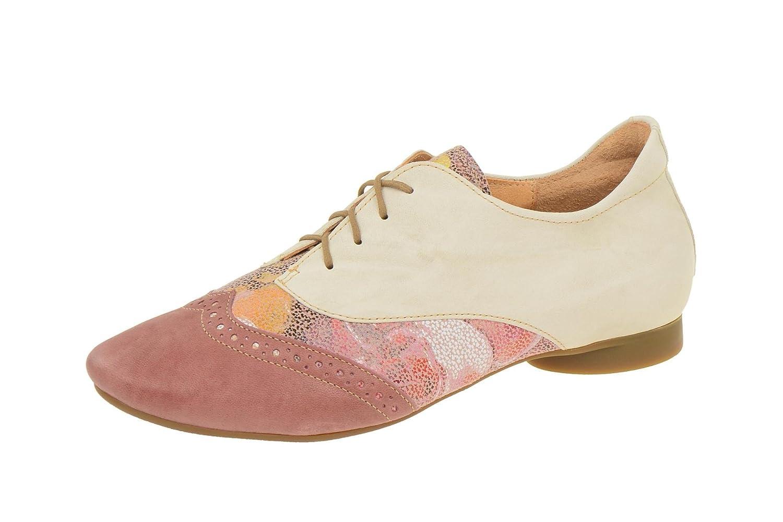 Think! Guad, Zapatos de Cordones Derby para Mujer 36.5 EU|Rose
