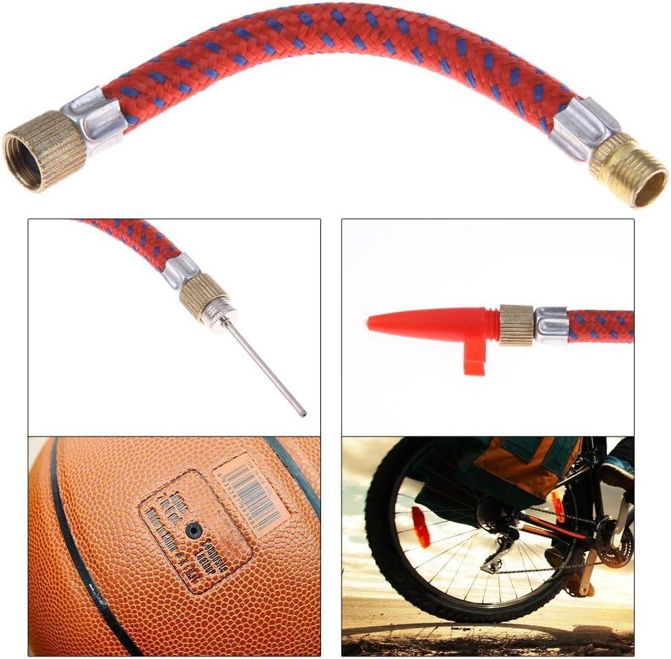 HONGCI Fahrrad Ventiladapter Standpumpe und Sports Premium ventil Kit, Enth/ält Alle SV AV DV PV-Extender,Presta Ventil mit Dichtring