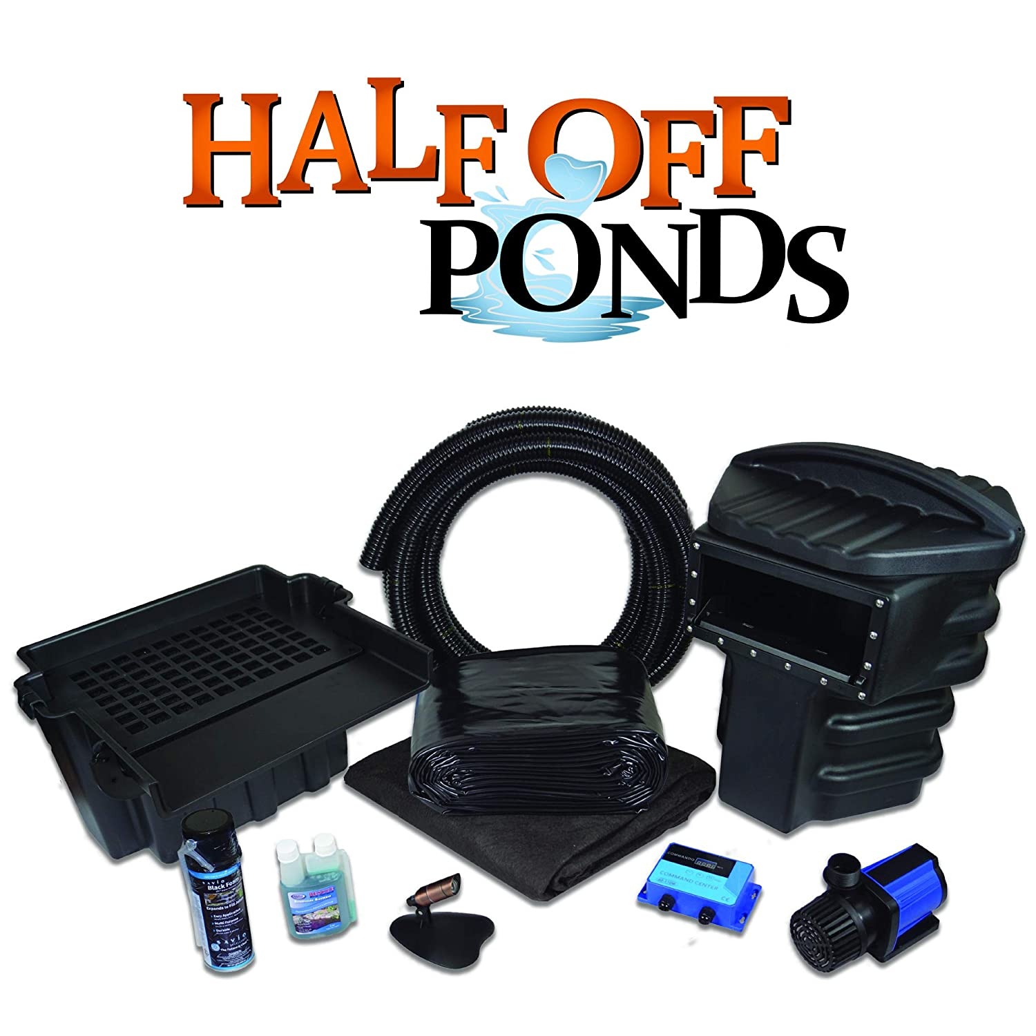 Simply Ponds 2100 Water Garden and Pond Kit with 10 Foot x 10 Foot PVC Liner