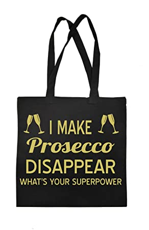 Prosecco Shopping Bag Shopper Tote Carrier Bag for Life Drink Wine ...