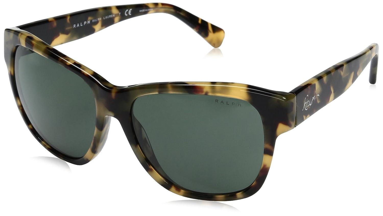 9ada44397d78 Ralph by Ralph Lauren Women's 0RA5226 13778G Sunglasses,  Black/Darkgreygradient, 56: Amazon.co.uk: Clothing