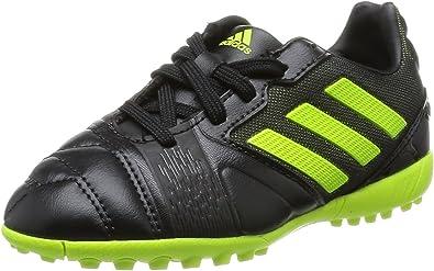 adidas Nitrocharge 2.0 TRX Turf TF J Zapatillas de Fútbol Infantiles Guantes Negro/Neon