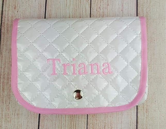 Funda toallitas bebé de pique plastificado personalizado.: Amazon.es: Handmade