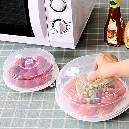 2 tapas de plástico para porno de microondas, tapa transparente ...
