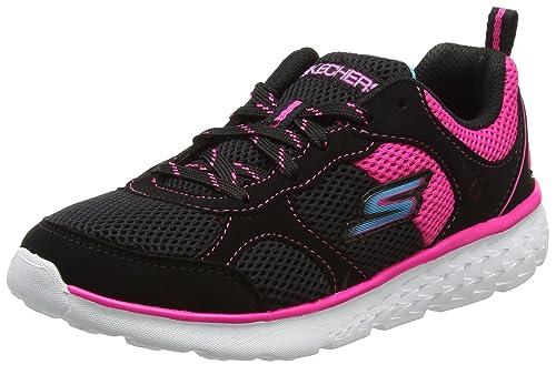 a4c1ea8ceefb Skechers Girls Go Run 400 Trainers  Amazon.co.uk  Shoes   Bags