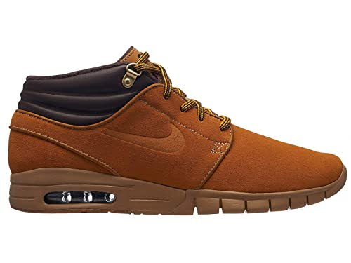 brand new 952a2 b90db Nike SB Stefan Janoski Max Mid Premium Wheat Pack Bronze Bronze Gum Light  Brown 9.5uk   Bronze Bronze Gum Light Brown  Amazon.co.uk  Shoes   Bags