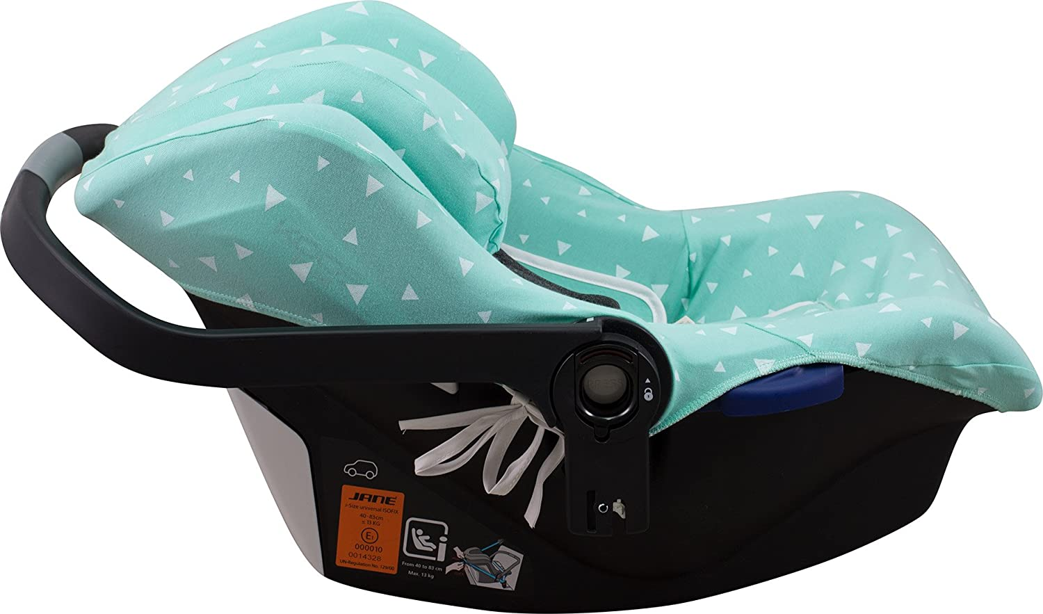 Concord Neo Air Safe and Romer Baby Safe Black Series Janabeb/é Cover Liner for Koos I-Size