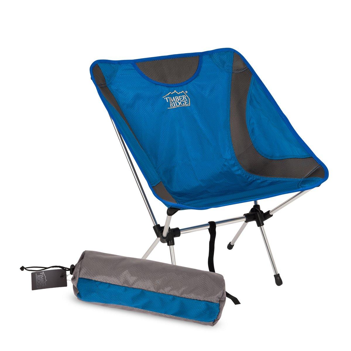 折りたたみポータブル軽量キャンプAluminum Chair with Carry Bag for Outdoor Supports 300lbs B06XXSV5TZ