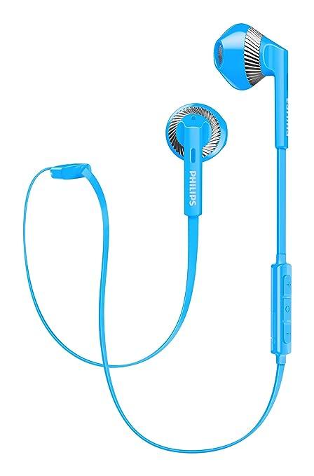 Philips SHB5250BL/00 - Auriculares (Inalámbrico, Dentro de oído, Binaural, Intraaural