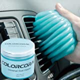ColorCoral Cleaning Gel Universal Gel Cleaner for Car Vent Keyboard Auto Cleaning Putty Dashboard Dust Remover Putty Auto Dus