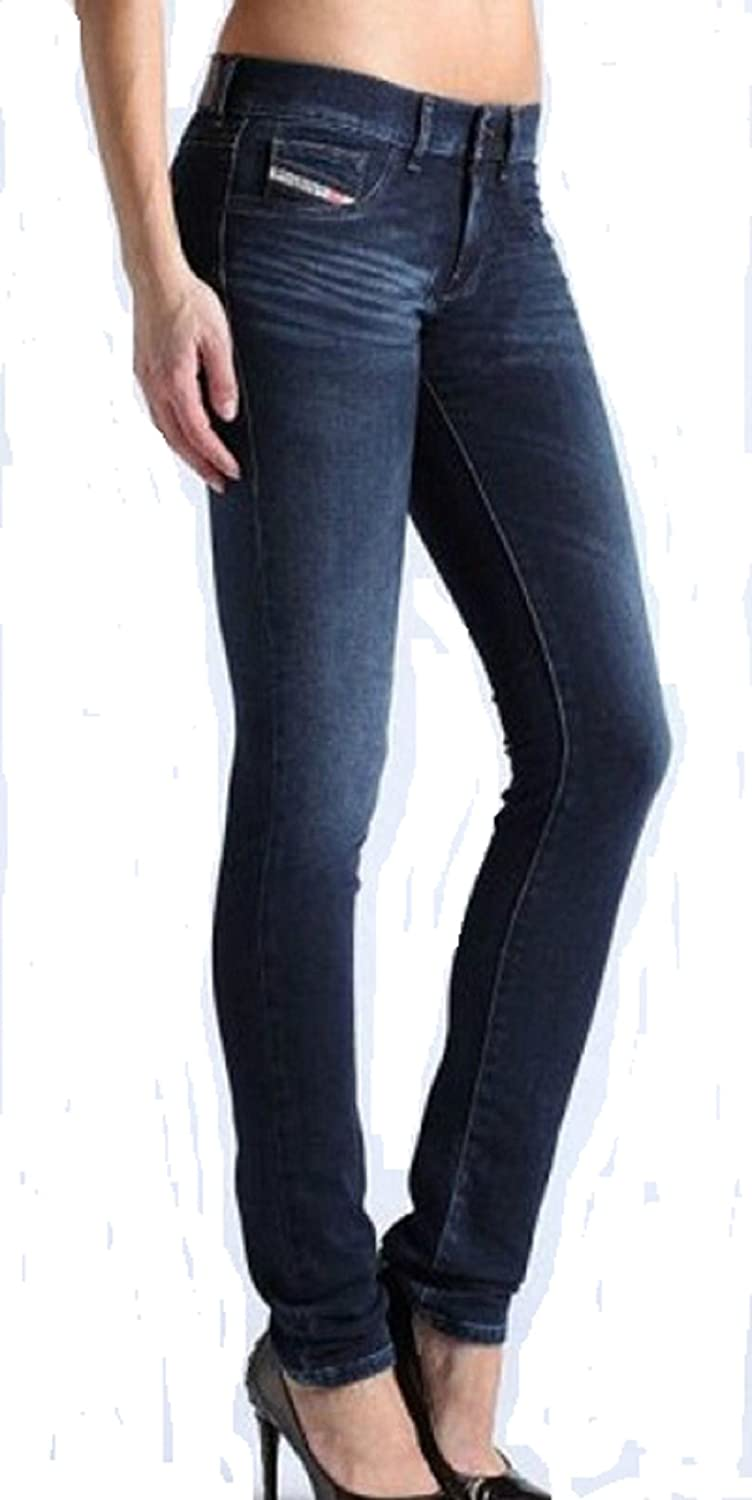 Womens Diesel Jeans Jeggings Livier 0R41I Slim Skinny (26x33):  Amazon.co.uk: Clothing