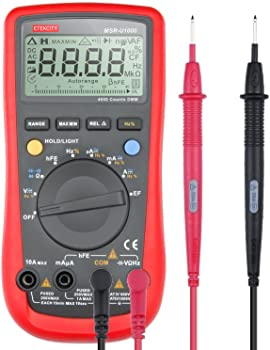 Etekcity MSR-U1000 Auto-Ranging Digital Multimeter
