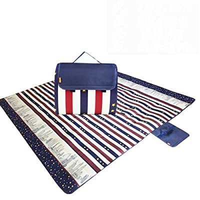 MONEYY The Picnic mat red and white format outdoor portable moisture pad tent picnic the picnic camping mats 300*363cm