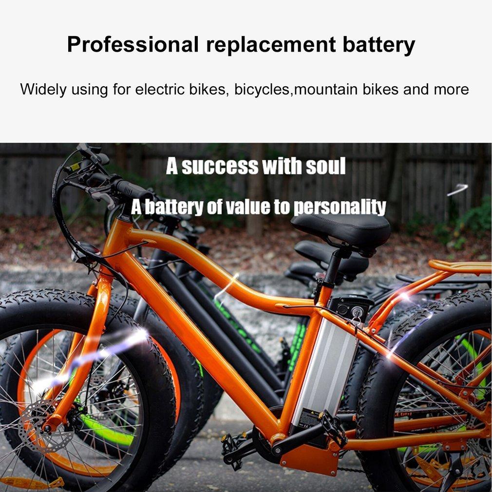 36v 15ah e bike li ion akku elektrofahrrad batterie silber. Black Bedroom Furniture Sets. Home Design Ideas