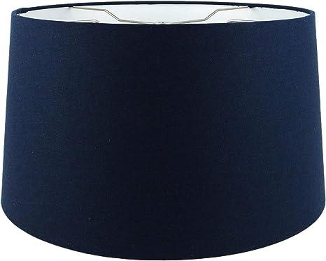 Flensburg Blue Drum Lamp Shade 15x16x11.5 Spider