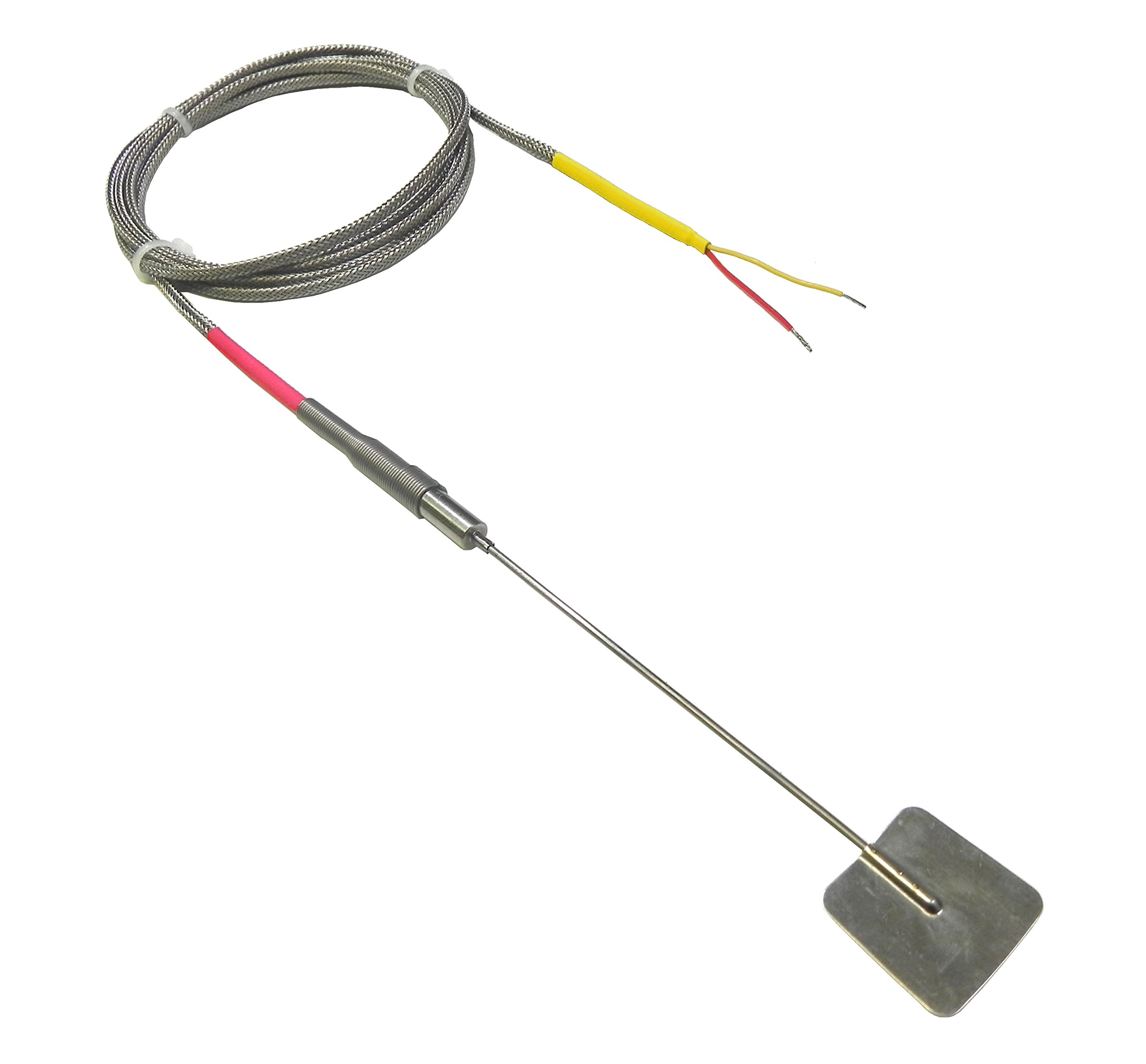Exhaust Manifold or Pipe Surface Thermocouple Temperature Sensor - with 25 foot long cable
