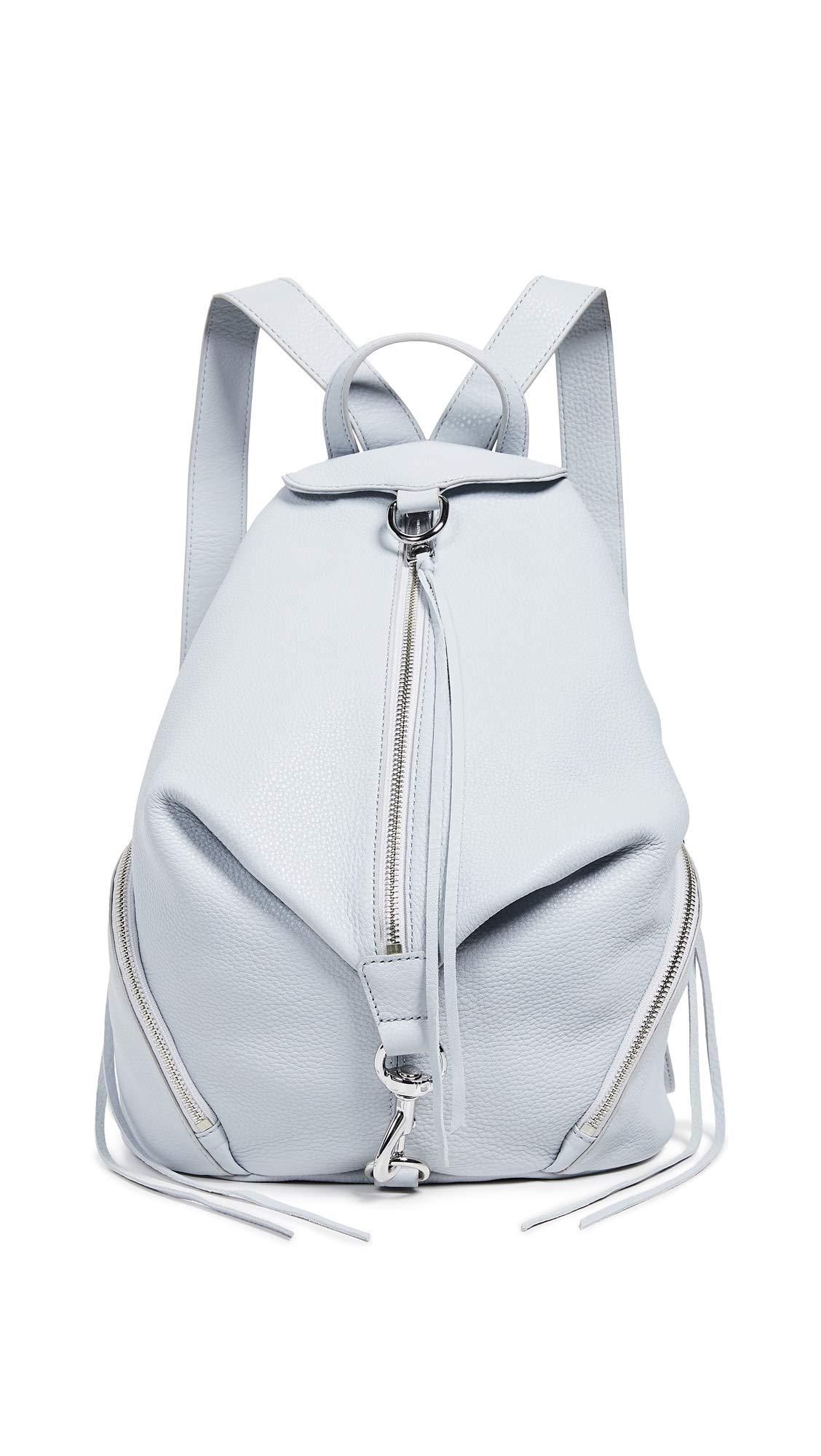 Rebecca Minkoff Women's Julian Backpack, Ice Grey, One Size