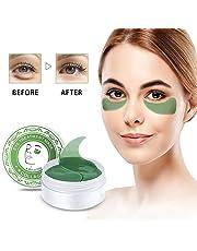 Under Eye Pads 30 Pairs Collagen Eye Mask Anti-Aging Eye Gel Pads for Puffy Eyes Dark Circles Wrinkles Fine Lines
