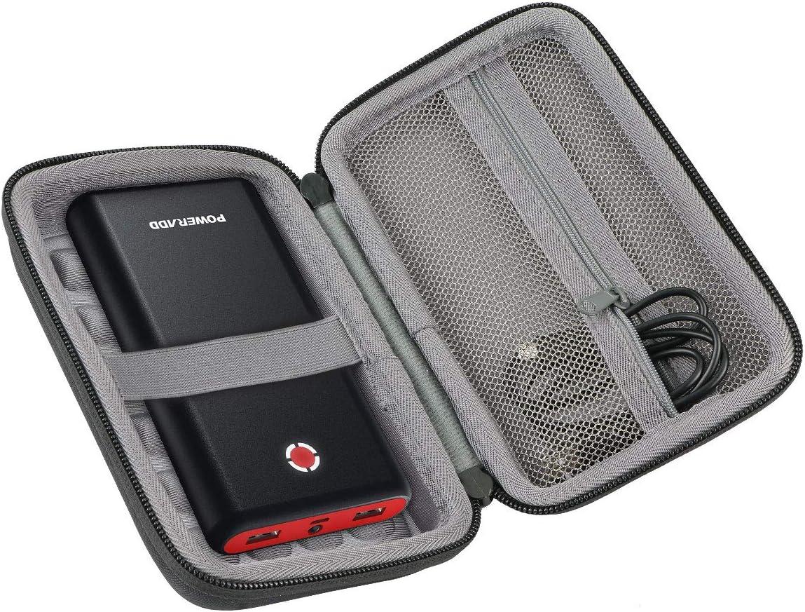 co2CREA Duro Viajar caja estuche funda para POWERADD Pilot X7 20000mAh Power Bank Cargador Batería Externa(estuche solo): Amazon.es: Electrónica