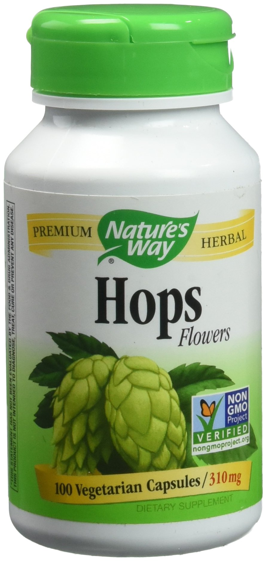 Nature's Way Hops Flowers - 100 Capsules