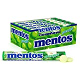 Mentos Chewy Mint Candy Roll, Green Apple, Non Melting, 1.32 ounce/14 Pieces (Pack of 30)